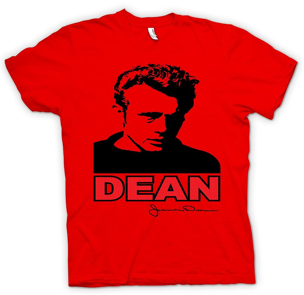 Mens t-shirt - James Dean Pop Art - film icona