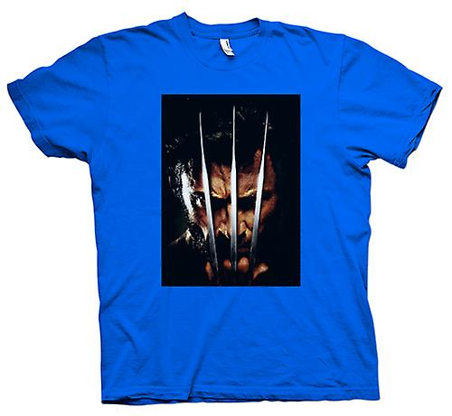 Mens t-shirt-Wolverine - X-Men - artiglio