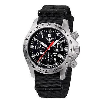 KHS watches mens watch platoon chronograph LDR KHS. PCLDR.NB