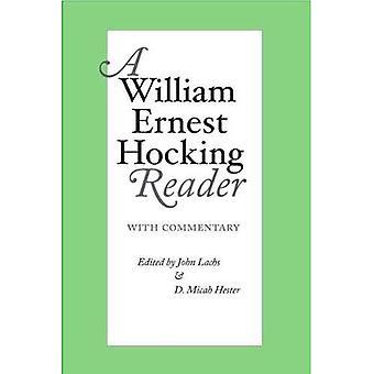 Un William Ernest Hocking Reader: commentée