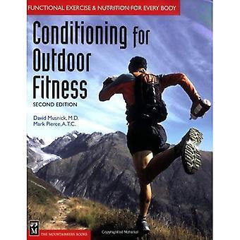 Luftkonditionering för utomhus Fitness: funktionell träning och näring för alla