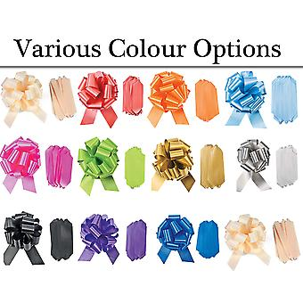 SALE - 12 Large 50mm Quick Pull Ribbon Bows - Weddings & Gifts