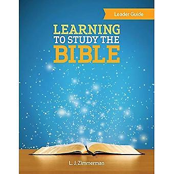 Apprendre à étudier la Bible chef Guide
