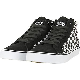 Urban classics - chess high canvas sneaker