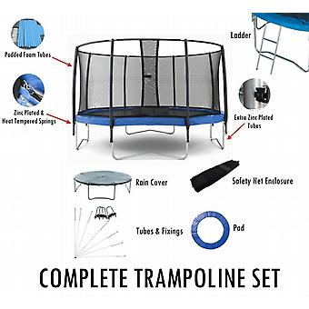 BodyRip Complete 10FT Trampoline Set