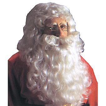 サンタ服ウィッグと白いあごひげの Reg