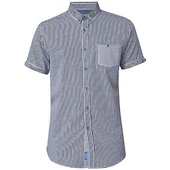 Duke Small Check Short Sleeve Shirt