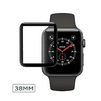 Apple iWatch Screen Protector 38mm-Full cover-black
