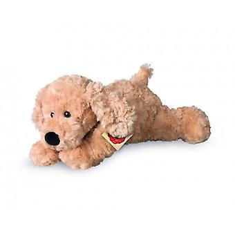 Hermann Teddy Kuschelhund Beige