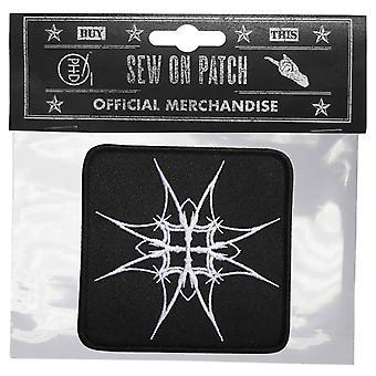 Emperor Patch Prometheus Album Symbol Official New Black Cotton Sew On 9cm x 9cm