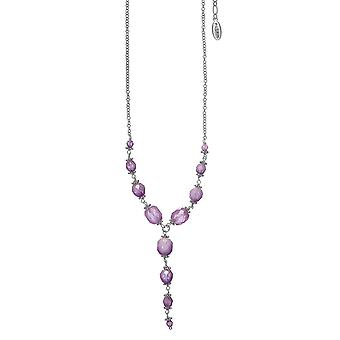 Pilgrim Ladies´ necklace :locket purple/silver (502241)