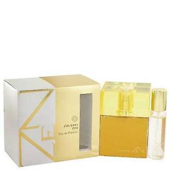 Zen By Shiseido Eau De Parfum Spray With .5 Oz Mini Edp Spray 3.4 Oz (women) V728-516005