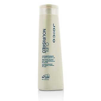 Joico Curl nutrido condicionador (para reparar e nutrir cachos) 300ml/10,1 oz