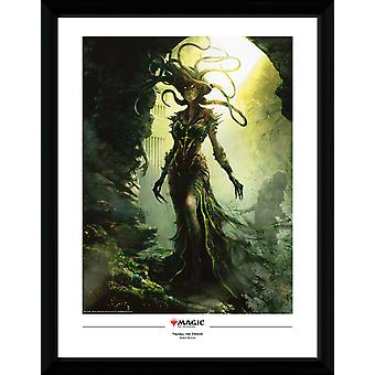 Magic the Gathering Vraska, The Unseen Collector Print 30.5x41cm