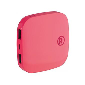 RadioShack Portable Power Bank 3000mah - Pink