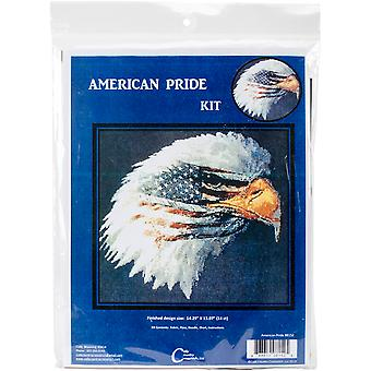 American Pride Counted Cross Stitch Kit-13