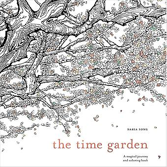 Watson-Guptill Books-The Time Garden Coloring Book WG-49608