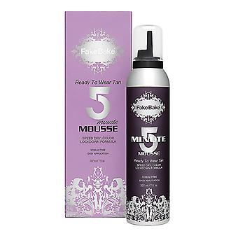 Fake Bake minutt Mousse 207ml klare til bruk Tan