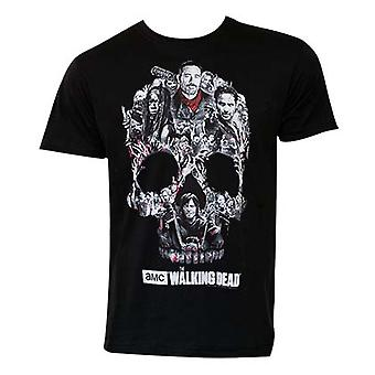 Walking Dead kraniet Logo Tee Shirt