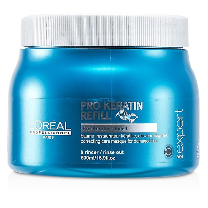 L'Oreal Professionnel Expert Serie - Pro-Keratin Refill Correcting Care Masque (For Damaged Hair) 500ml/16.9oz