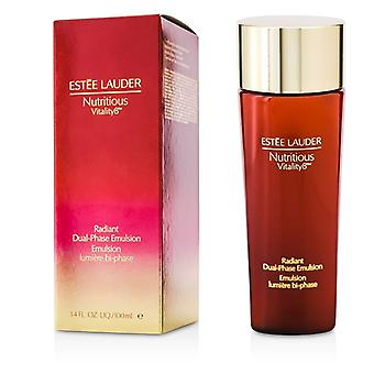 Estee Lauder Nutritious Vitality8 Radiant Dual-Phase Emulsion 100ml/3.4oz