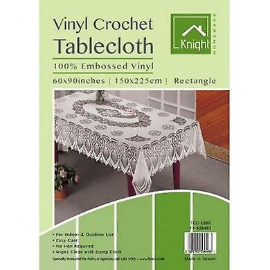 Crochet Vinyl Table Cover Rectangular