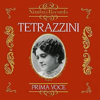 Luisa Tetrazzini - Prima Voce: Tetrazzini [CD] USA importieren