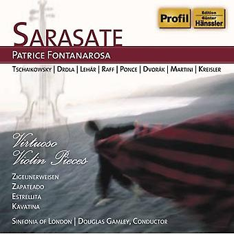 P. de Sarasate - virtuos Violin Pieves [CD] USA import
