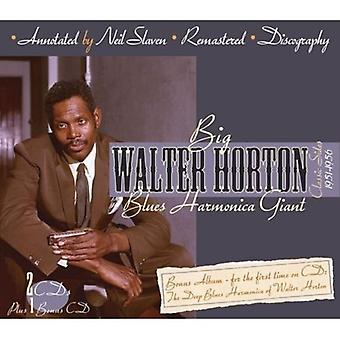 Walter Horton - Blues Harmonica Giant [CD] USA import