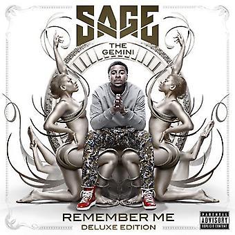 Sage Gemini - Husk mig [CD] USA import