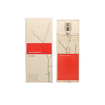 Armand Basi IN RED edt spray