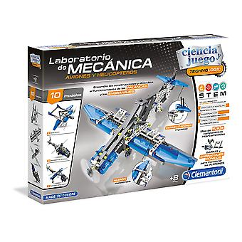 Clementoni Technologic Mechanics Aviones/Helicópteros (Toys , Constructions , Vehicles)