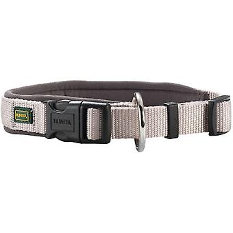 Hunter Collar Neopren Vario Plus de nylon para perros color gris