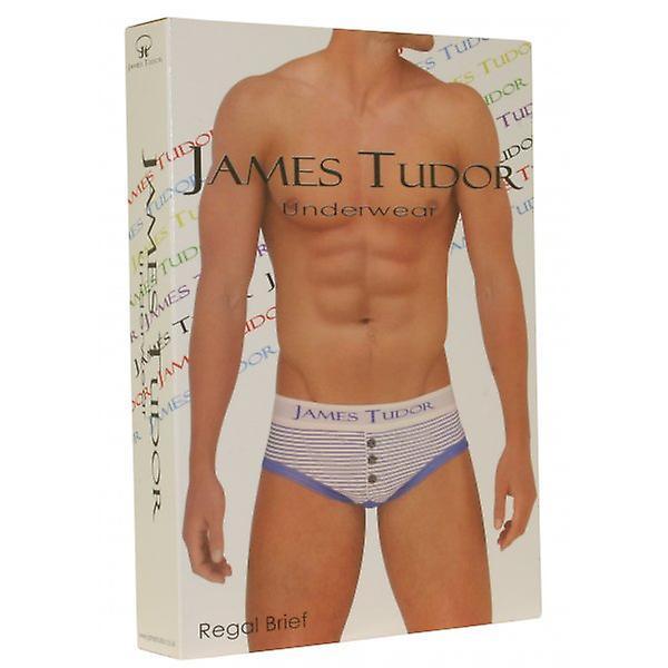 James Tudor kongelig striper kort, svart