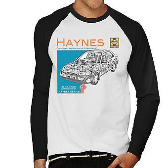 Haynes Owners Workshop Manual 1923 Ford Mondeo mannen honkbal lange mouwen T-Shirt