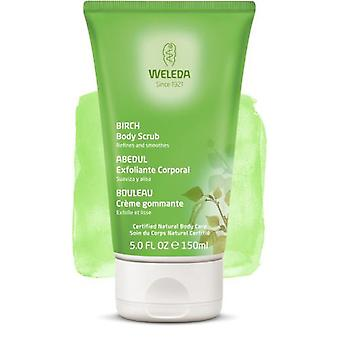 Weleda Birch Body Scrub 150ml. (Cosmetics , Body  , Scrubs)
