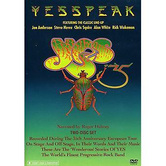 Ja - Yesspeak [DVD] USA importerer