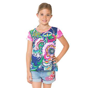 Desigual colorful summer girl shirt Ts_Delaware