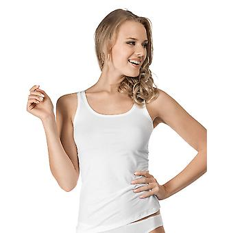 Skiny Essentials Light White Cotton Tank Top 83930