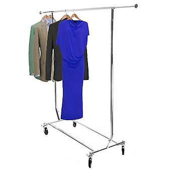 Deluxe Collapsible Chrome Clothes Rail