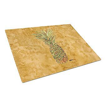 Carolines Schätze 8654LCB Ananas Glas Schneidebrett groß