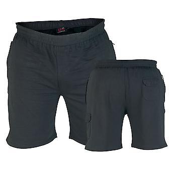 D555 'John' Lightweight Fleece Cotton Cargo Shorts