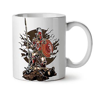 Sparta Warrior Fantasy NEW White Tea Coffee Ceramic Mug 11 oz | Wellcoda