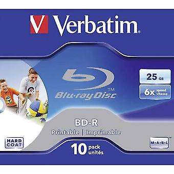 Blank Blu-ray BD-R 25 GB Verbatim 43713 10 pc(s) J