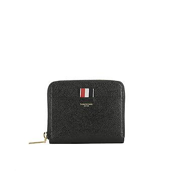 Thom Browne women's FAW013A00198001 black leather wallets