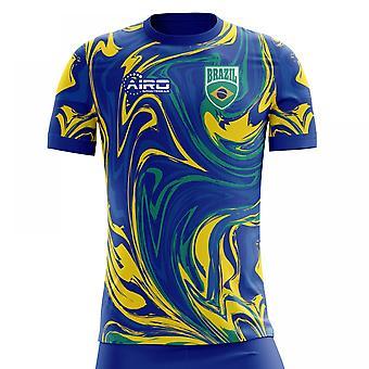 2018-2019 Brazil Away Concept Football Shirt