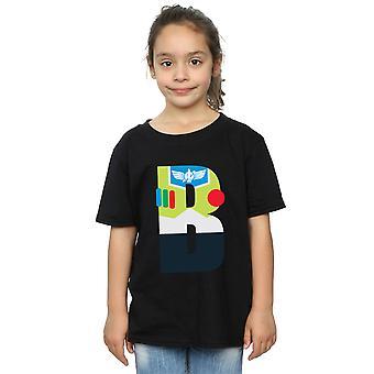 Disney Girls Alphabet B Is For Buzz Lightyear T-Shirt