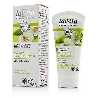 Lavera ekologiskt grönt te & Calendula mattande Balancing Cream - för kombinerad hy - 50ml/1,7 oz
