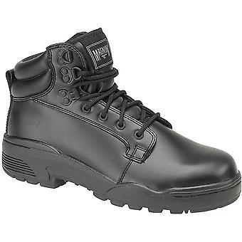 Magnum Mens Magnum Patrol Textile Lined Leather Patrol Shoe Black