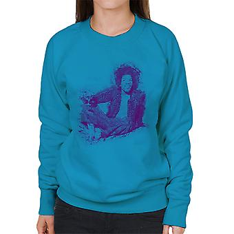 Jimi Hendrix Relaxing In Mayfair 1969 Women's Sweatshirt